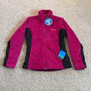NWT, Columbia, Deep Plush Fleece Jacket!